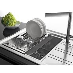 Barazza - Perforated tray with removable dish drainer 1VSOF - set