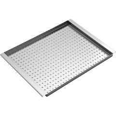 Barazza 1civq Rectangular stainless steel bowl cover