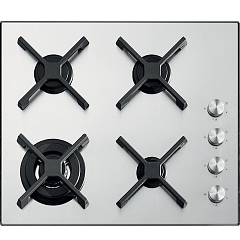 Barazza 1pspt64 Built-in hob cm. 60 - stainless steel - with triple crown Select Plus