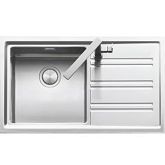 Barazza 1les91rd Built-in sink cm. 86 x 50 steel drip dx Easy