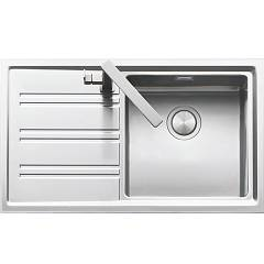 Barazza 1les91rs Built-in sink cm. 86 x 50 steel drip sx Easy