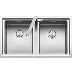 Barazza 1les92p Built-in sink cm. 86 x 51 steel edge plate in wire Easy