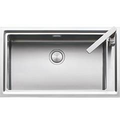 Barazza 1les91p Built-in sink cm. 86 x 51 steel edge plate in wire Easy