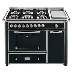 Barazza 1b120avim Kitchen cm. 130 ivory finishes stainless 4 gas_2 triple crown_fry top_maniglione Collezione Classica