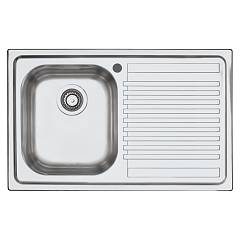 Barazza 1lfs81d Built-in sink cm. 79 x 50 inox 1 layer left + roof right B_fast