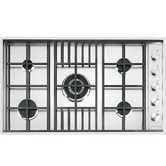 Barazza 1plb5 5-burner gas hob 90 cm - stainless steel Lab