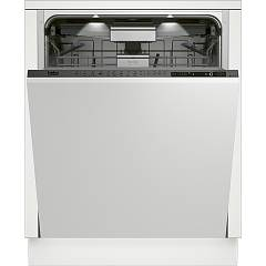 Beko Din 39430 Total integrated dishwasher 60 cm, 15 covered - white