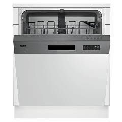 Beko Dsn 15420 X Dishwasher cm. 60 - partial integrated inox dashboard