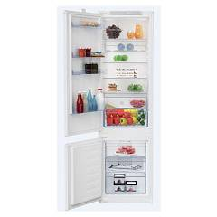 Beko Bcsa 306 K2s Lh Static fridge freezer h 193 cm - opening on the left 4810 Montebianco