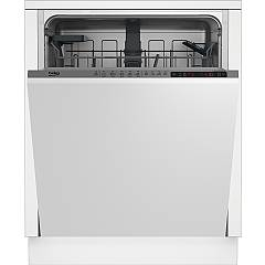Beko Din25411 60 cm total concealed dishwasher, 14 covered - white