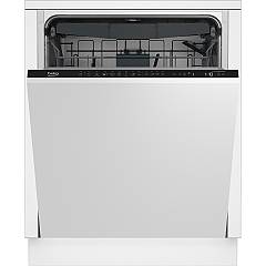 Beko Din28425 60 cm total concealed dishwasher, 14 covered - white