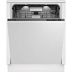Beko Din39431 60 cm total concealed dishwasher, 14 covered - white