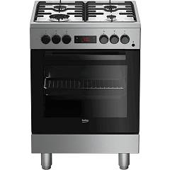 Beko Fse62110dxf Approach kitchen 60 cm - 4 burners + 1 electric oven - stainless steel