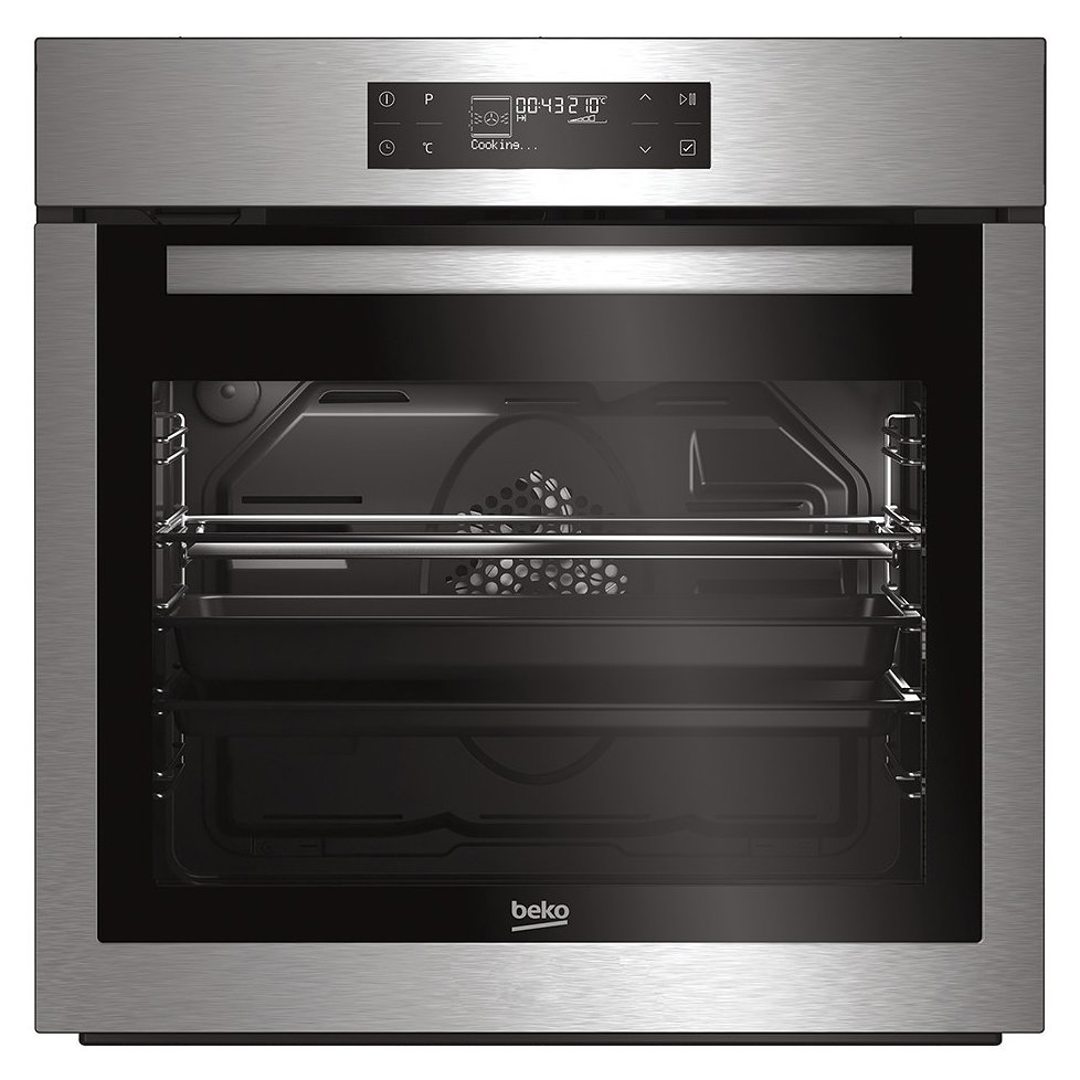 Multifunction oven 60 cm - stainless steel 13 cooking functions - BEKO - BIRY 16500 XOS