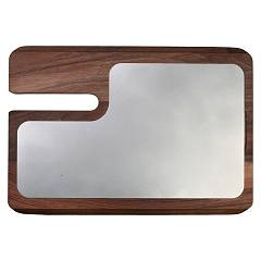 Berkel Tag000facax Red line cutting board mm. 290 x 205 - stainless steel and beech