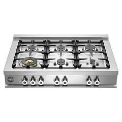 Bertazzoni Cb36 6 00 X Cooking top cm. 91.4 stainless steel Professional
