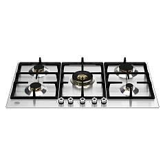 Bertazzoni P905cprox Hob cm. 90 - 5 gas burners - stainless steel Professional