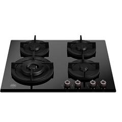 Bertazzoni P604lprogne 4-burner gas hob 60 cm - black ceramic glass Professional