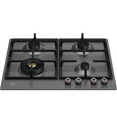 Bertazzoni P604lprone 4-burner gas hob 60 cm - matt black Professional