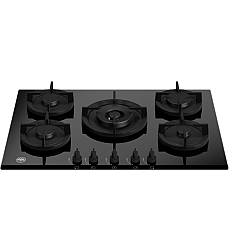 Bertazzoni P755cmodgne 5-burner gas hob 75 cm - black ceramic glass Modern