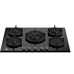 Bertazzoni P755cprogne 5-burner gas hob 75 cm - black ceramic glass Professional