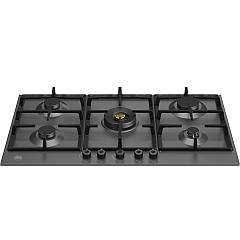 Bertazzoni P905cprone 5-burner gas hob 90 cm - matt black Professional