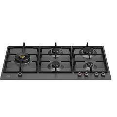 Bertazzoni P905lprone 5-burner gas hob 90 cm - matt black Professional