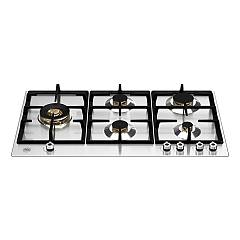 Bertazzoni P905lprox 5-burner gas hob 90 cm - stainless steel Professional