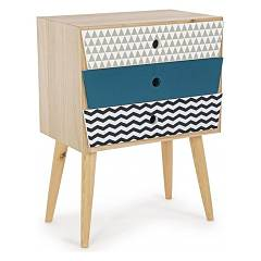 Bizzotto 0744547 - Barnaby Chest of drawers wood 3 drawers