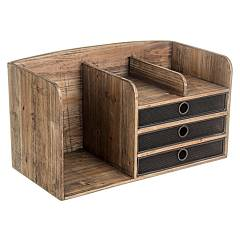 Bizzotto 0730068 - Officina Chest of drawers wood 3 drawers