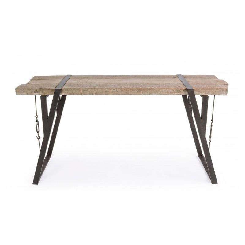Photos 2: Bizzotto Fixed wood console l. 153 x 44 0740258