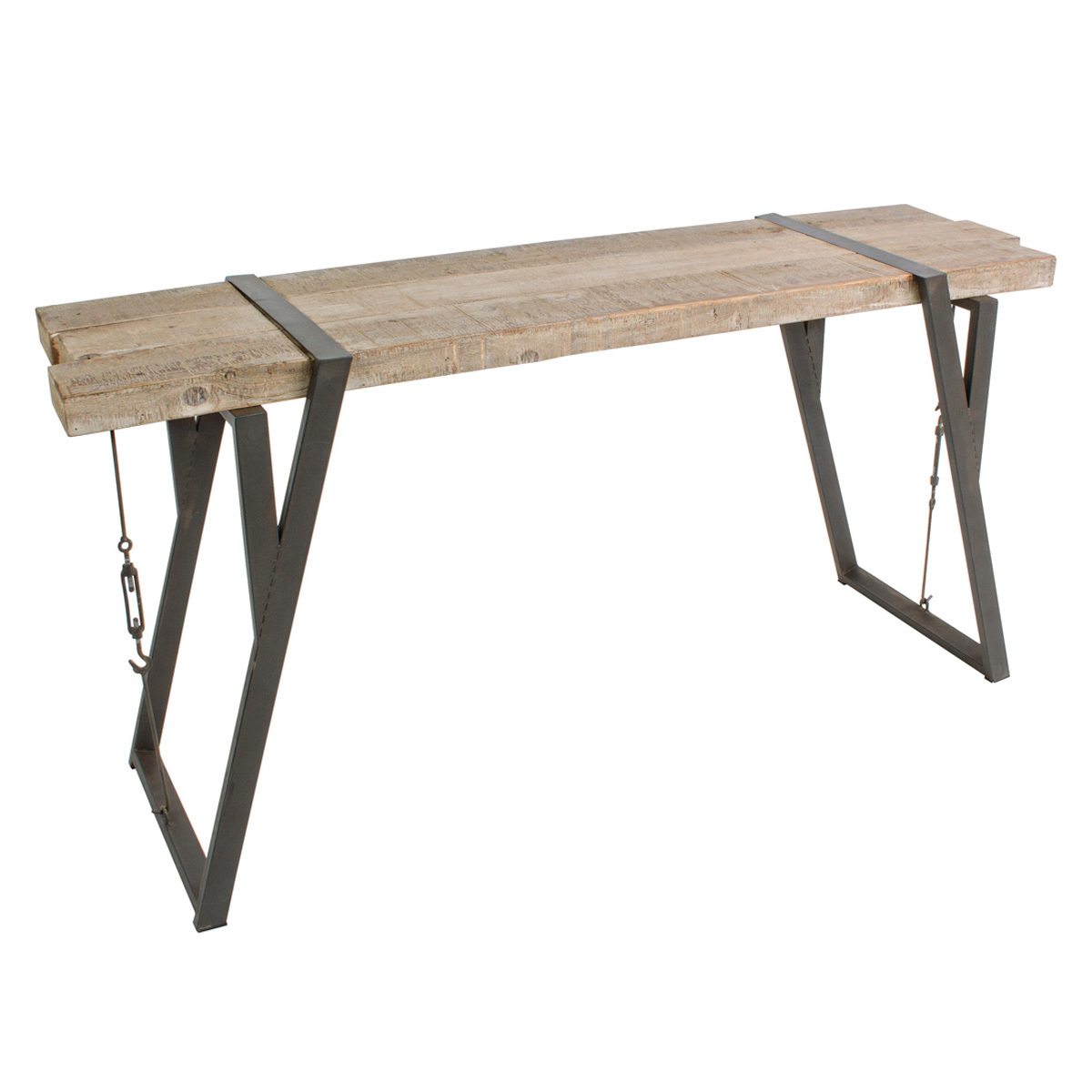 Photos 1: Bizzotto Fixed wood console l. 153 x 44 0740258