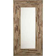 Bizzotto 0745341 Mirror with wooden frame Alvin