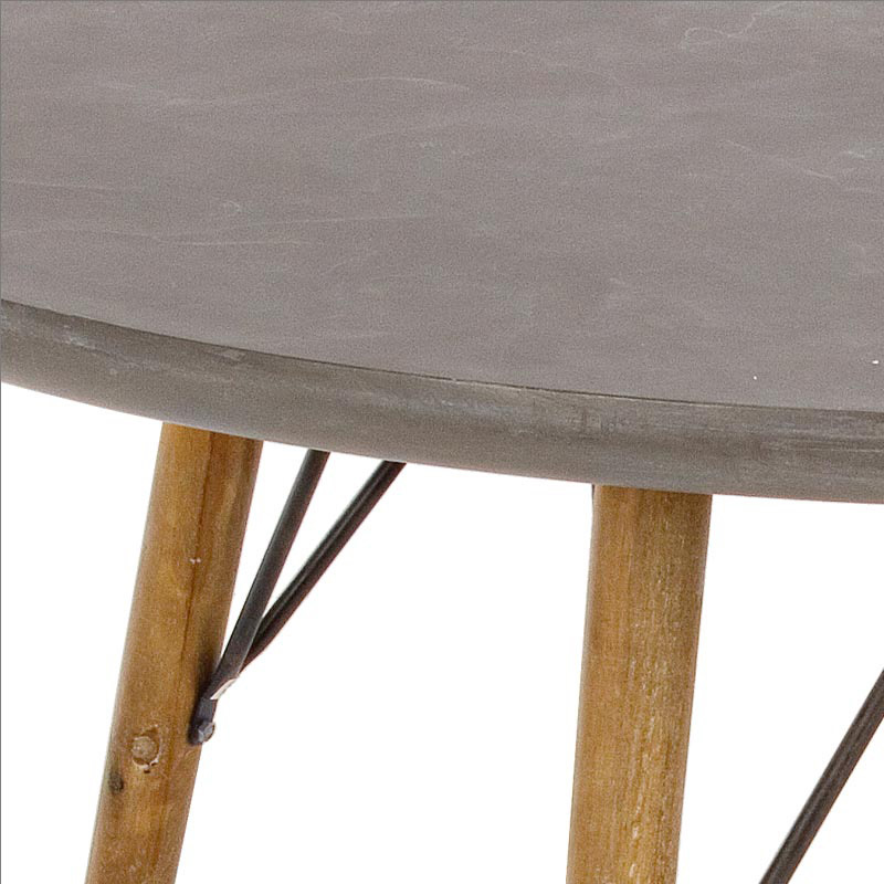 Photos 2: Bizzotto Round wood table d.120 0740247
