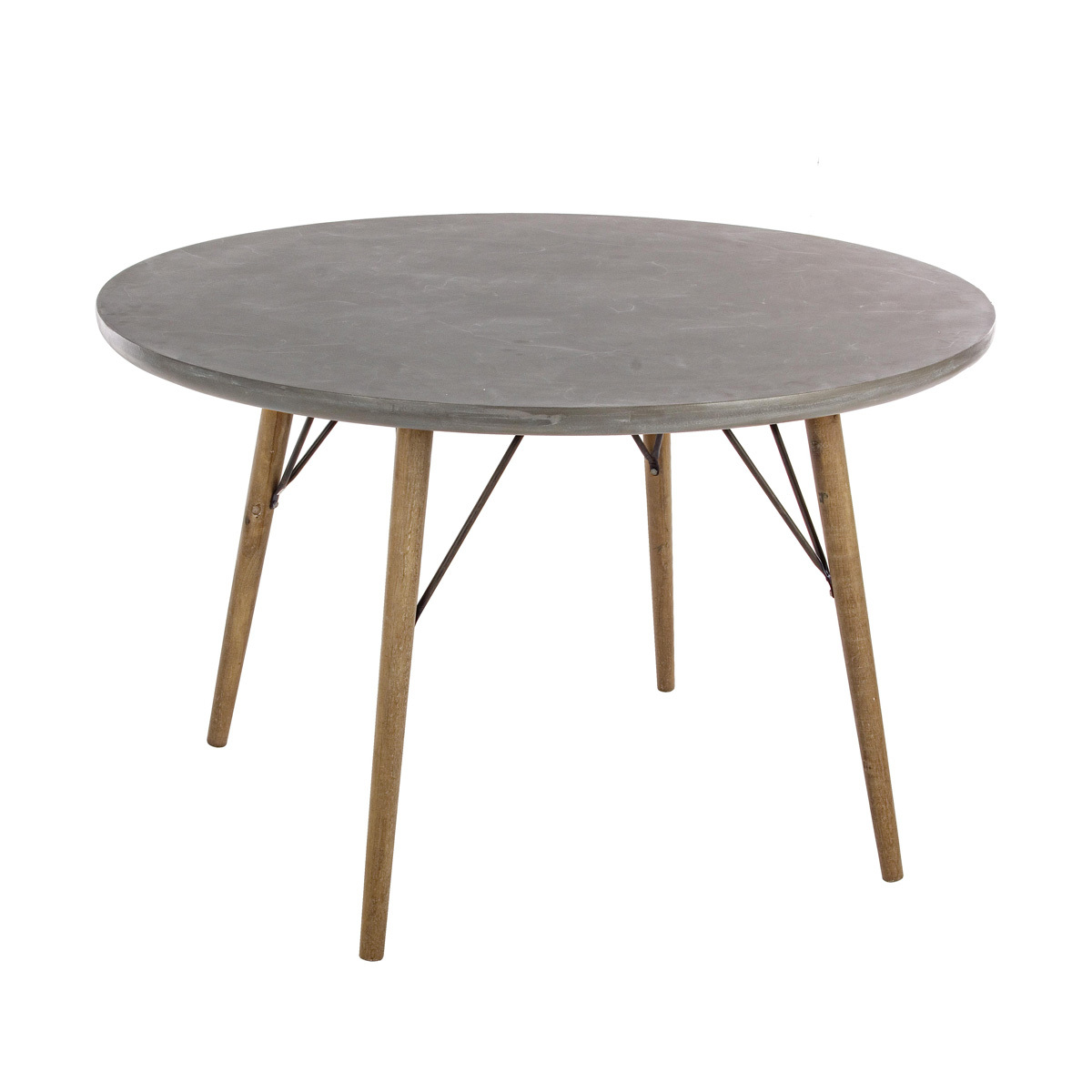 Photos 1: Bizzotto Round wood table d.120 0740247