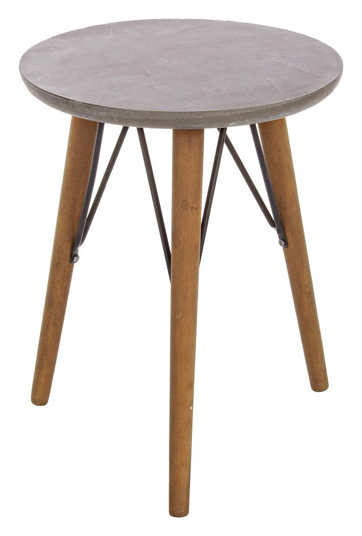 Photos 1: Bizzotto Round wood coffee table d. 40 h. 51 0740243