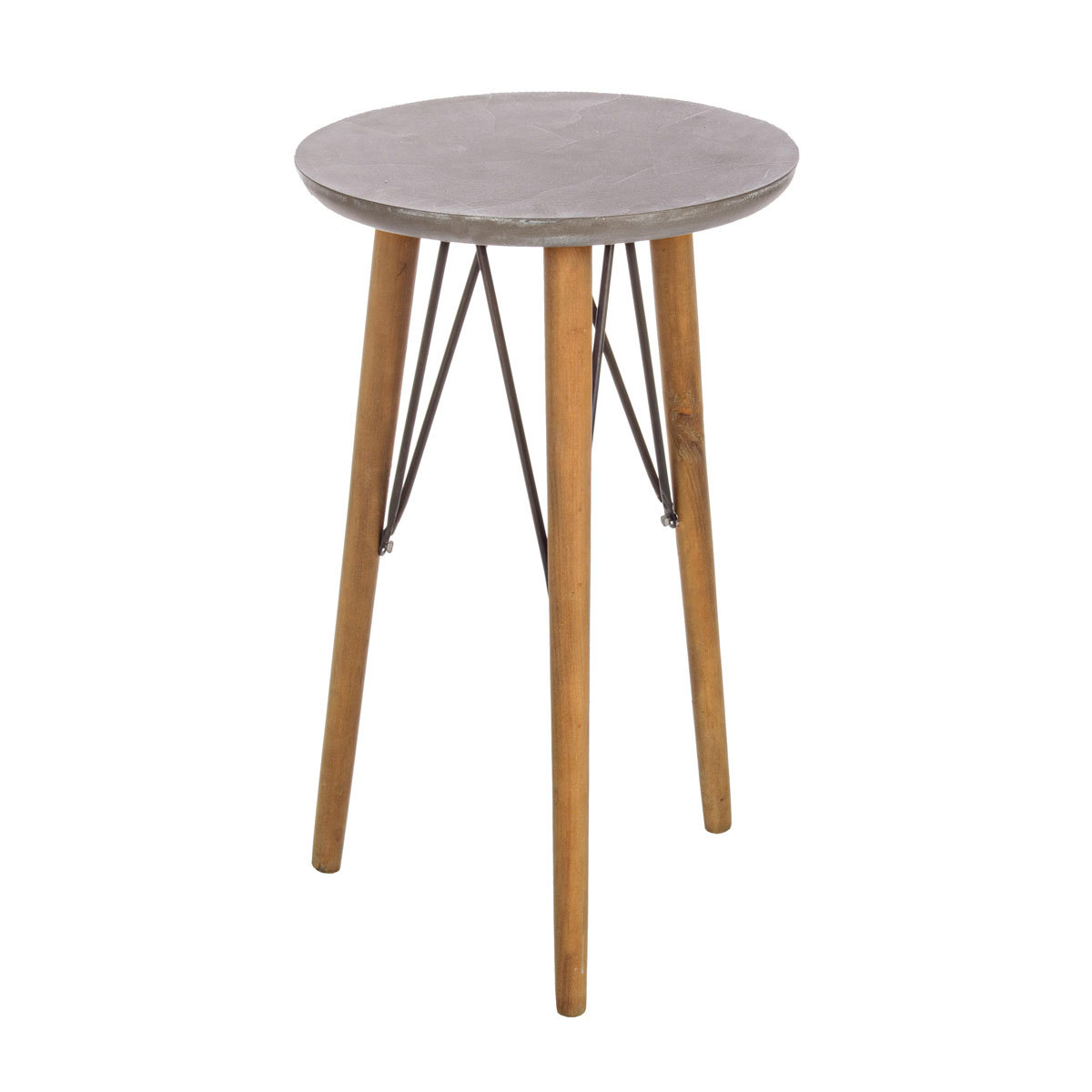 Photos 1: Bizzotto Round wooden table d. 40 h. 66 0740244