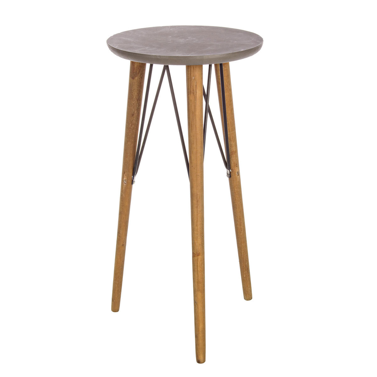 Photos 1: Bizzotto Round wood coffee table d. 40 h. 81 0740245