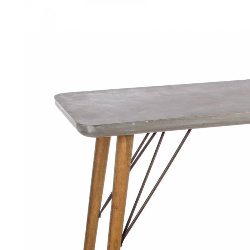 Photos 3: Bizzotto Fixed wood console l. 120 x 40 0740246