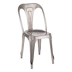 Bizzotto 0746008 Stackable metal chair Droid