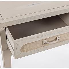 Photos 5: Bizzotto Fixed wood console l. 90 x 40 with 2 drawers 0745843