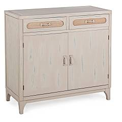 Bizzotto 0745849 Wooden sideboard with 2 doors and 2 drawers Edison