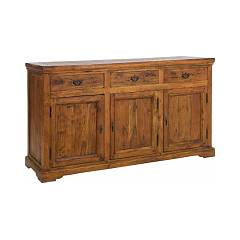 Bizzotto 0742745 Madia in wood with 3 doors and 3 drawers Chateaux