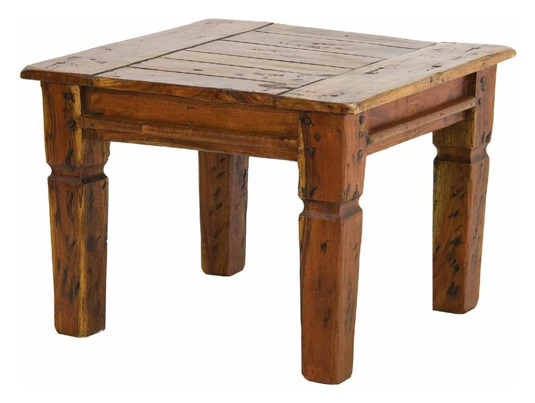 Photos 1: Bizzotto 0742748 Chateaux Wooden square table 60x60 cm
