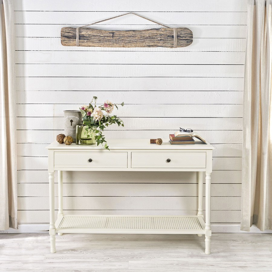 Photos 5: Bizzotto Fixed wood console l. 120 x 40 with 2 drawers 0745378