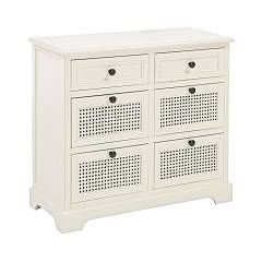sale Bizzotto 0745382 - Amabel Wooden Dresser 6 Drawers