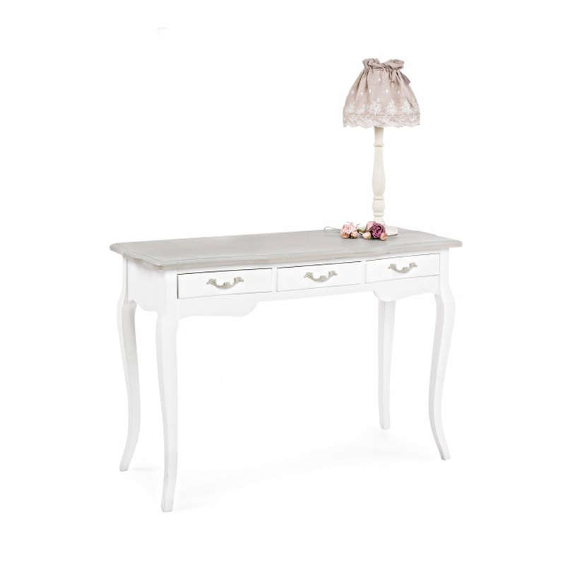 Photos 5: Bizzotto Fixed console in wood l. 110 x 43 with 3 drawer 0744352