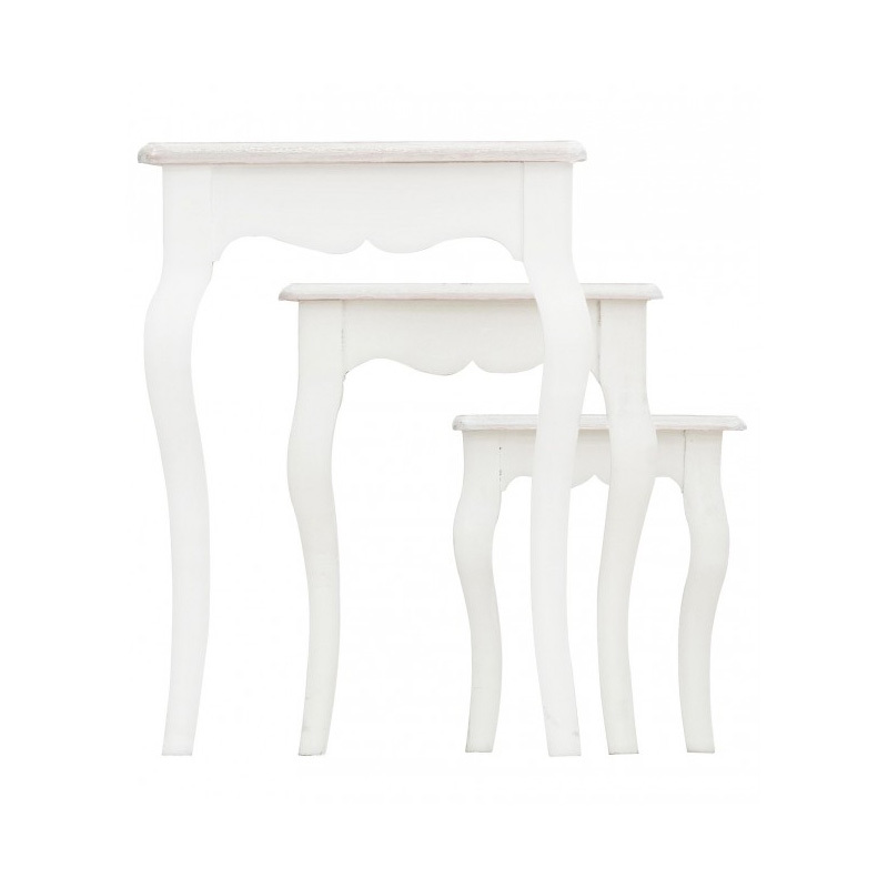 Photos 3: Bizzotto Set 3 wooden tables 0744527