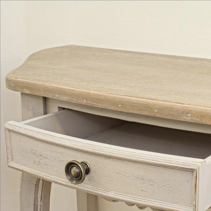 Photos 5: Bizzotto Fixed console in wood l. 80 x 35 with 1 drawer 0745807