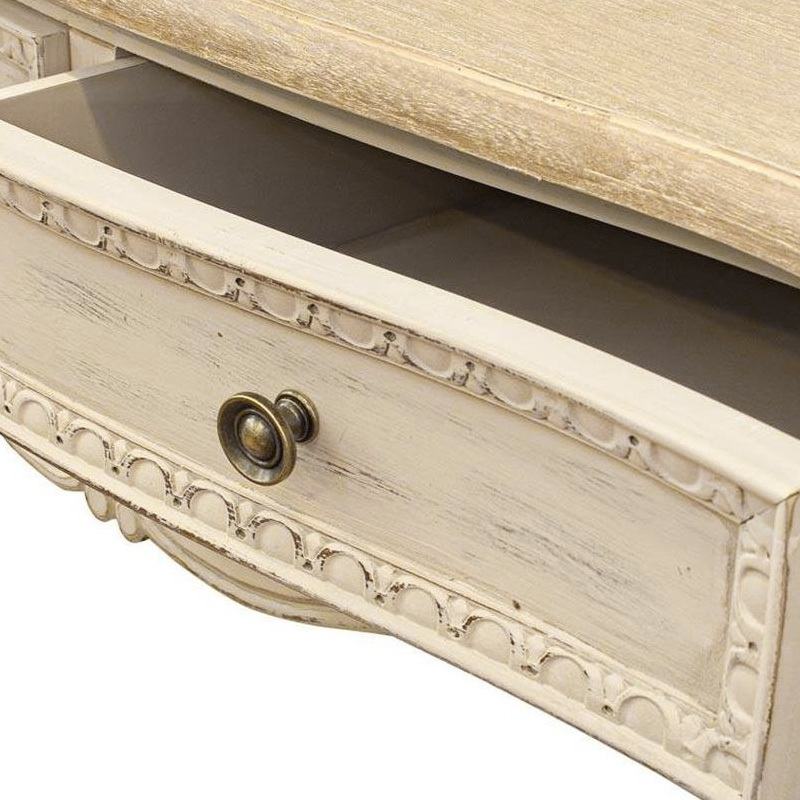 Photos 5: Bizzotto Fixed wood console l. 90 x 40 with 2 drawers 0745808